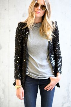CASUAL SEQUINS | FASHION JACKSON