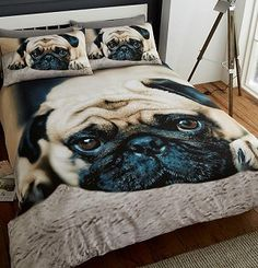 Item Specification New luxury printed sweet pug duvet quilt cover bedding set Material Absolutely machine washable Single : with 1 pillow case Double : with 2 pillow cases King : with 2 pillow cases Black Bedding, Linen Bedding, Quilt Bedding, Bed Linens, Bedding Decor, Girl Bedding, Bed Linen Sets, Duvet Sets, Bed Sets
