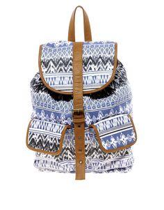 River Island - Blue Backpack