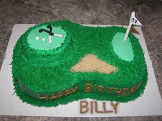 this was for my husbands birthday but it could easily also be made for a grooms cake. Golf Cookies, Sugar Cookies, Golf Course Cake, My Husband Birthday, Golf Theme, Golf Party, Cupcake Cakes, Wedding Cakes, Birthdays