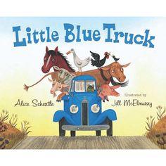 The Little Blue Truck Board Book, Multicolor