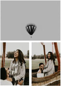 Hot Air Balloon Proposal in Santa Rosa, CA   San Francisco Bay Area California Wedding and Engagement Photography   lynnchanglewis.com