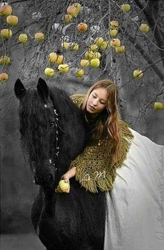 *Under the apple tree