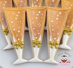 Champagne Glass Cookies, Zeus Mortgage Cookies, Zeus Cookies