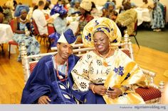 Nigerian Traditional Engagement Wedding Colors: Aso-Oke Color Matching Ideas For Couples | Nigerian Wedding
