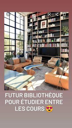 Idées déco pour un coin cosy, bibliothèque, salle d'étude pour nos jeunes Shelving, Divider, The Unit, Furniture, Home Decor, Study Rooms, Yard, Shelves, Decoration Home