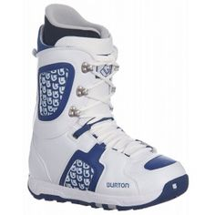 SALE - Burton Snowboard Boots Mens White Rubber - Was $169.95 - SAVE $89.00. BUY Now - ONLY $80.95