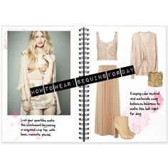 How To Wear: Sequins for Day, created by molly-ryan.polyvore.com