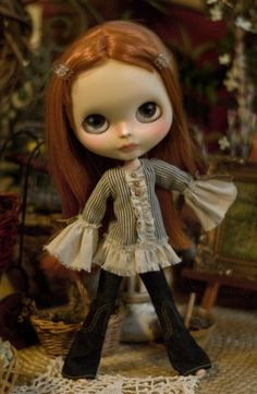 Sweet Freedom. Bohemian Top For Blythe Doll by SugarMountainArt