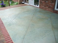 polished concrete floors with brick inlays - Google Search