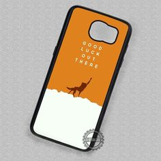 Good Luck Quotes Fantastic Mr Fox - Samsung Galaxy S7 S6 S5 Note 4 Cases & Covers