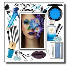 """Springtime Beauty"" by melody-renfro-goldsberry ❤ liked on Polyvore featuring beauty, CHI, Christian Dior, Clarins, Bobbi Brown Cosmetics, Clinique, Yves Saint Laurent, John Lewis and Tory Burch"