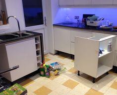 Kitchen going in :-)