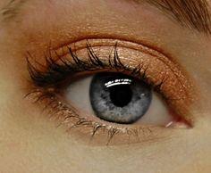 Metallic peach eyeshadow by BLSoaps on Etsy