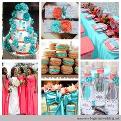 Nigerian Wedding: How To Differentiate Between Teal, Turquoise ...