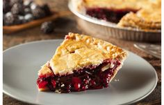 Easy-to-make cherry pie is the perfect summertime treat. #canadianliving #cherrypie #cherrypierecipe #pierecipe #flakycrust #cherryrecipe