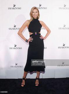 Model Karlie Kloss attends Swarovski #bebrilliant on May 24, 2016 in New York City.