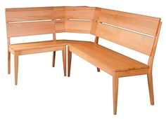 NR402 dřevěná rohová lavice masiv buk Drewmax