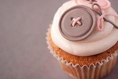 Button cupcake.