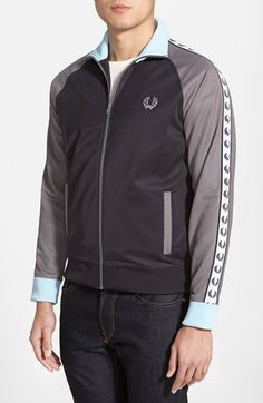 Men's Fred Perry Laurel Tape Track Jacket