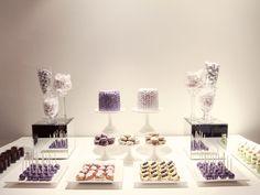 Purple and Lavender Dessert Table   Principal Planner Talks