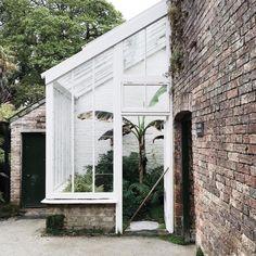 Glass Houses, Atrium, Conservatory, Sunroom, Exterior, Garden, Instagram Posts, Outdoor Decor, Plants