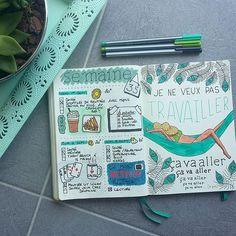 whats_up_gwen SEPTEMBRE - 1ÈRE [1/2]SEMAINE  -  Voici les 3 premières journées de septembre, avec une page pour illustrer mon humeur avant la rentrée et la reprise du boulot...les vacances me semblent loin maintenant...le ☉ aussi surtout!