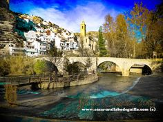 El puente de Alcalá del Júcar. http://www.casarurallabodeguilla.com