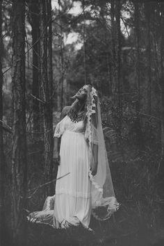 Grace Loves Lace, vintage inspired, bohemian, lace, wedding, dress, fashion, woodland, photography,