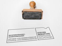 Corporate Design für Steuerberatung Stephanie Palmowski