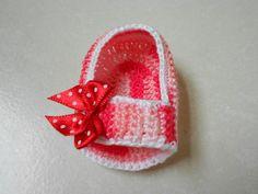 Lembrancinha de maternidade / sandalinha bebê