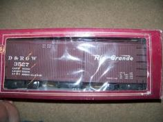 Bachmann Big Haulers G Scale Rio Grande Box Car