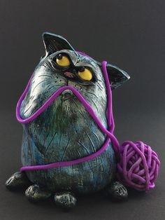 Bad Blue Cat | Flickr - Photo Sharing!