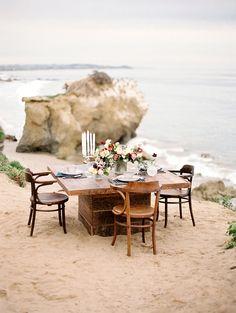 Coastal inspiration   Rich Hued Coastal Wedding Romance   Charla Storey…