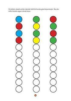 Kleuren leren - MyKingList.com Creative Activities For Kids, Preschool Learning Activities, Math For Kids, Toddler Learning, Kindergarten Math, Preschool Activities, Teaching Kids, Preschool Pictures, Math Patterns