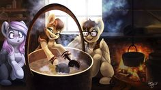 Cheese making process by AmiShy