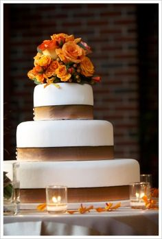 fall wedding cakes | ... fall wedding would be lovelier with this fall inspired wedding cake