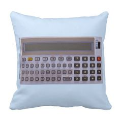 calculator pillows