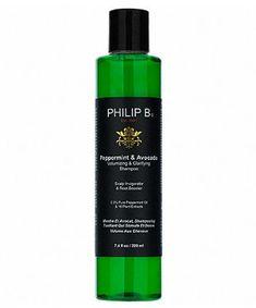 Best Shampoo for Fine Hair: Philip B. Peppermint and Avocado Volumizing & Clarifying Shampoo Shampoo For Fine Hair, Hair Shampoo, Dry Shampoo, Pure Peppermint Oil, Clarifying Shampoo, Hair Rinse, Celebrity Hair Stylist, Best Shampoos