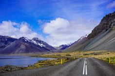 You can drive around the entire country of Iceland within a few days. You'll see everything from geysers to mountains to big cities. See how diverse Iceland is as a country. Iceland Travel, Iceland Photos, Mountain Photos, Where To Go, Travel Photos, Travel Tips, Alaska, Travel Photography, Iceland