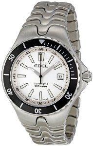 Ebel Men's 1215462 Sportwave Diver White Dial Watch