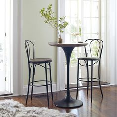 Whether your style is rustic or elegant, modern or traditional, shop Arhaus for the dining room sets and kitchen furniture to style your home. Pub Table Sets, Dining Room Sets, Dining Room Furniture, Outdoor Furniture Sets, Bar Tables, Outdoor Patio Bar Sets, Pub Set, Wood Patio, Cool Bars