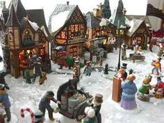 301 Best Christmas Villages Images On Pinterest In 2018 Christmas