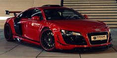 Audi R8 PD GT650 par Prior Design.