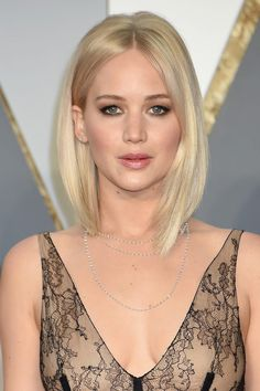 "[link url=""http://www.glamourmagazine.co.uk/jennifer-lawrence""]Jennifer Lawrence[/link] not only gives us ice blonde #hairgoals but she makes us want to get a [link url=""http://www.glamourmagazine.co.uk/beauty/celebrity/hair/2011/05/celebrities-with-bobs-bob-cut-hairstyles""]bob[/link] so damn bad."