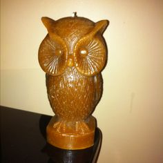 Love love LOVE my new owl candle!