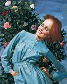 "john currin ""bent lady"" (2003)"