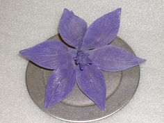 Gumpaste  Wired Lily Perfect for Wedding Cakes by GumpasteGarden, $10.00