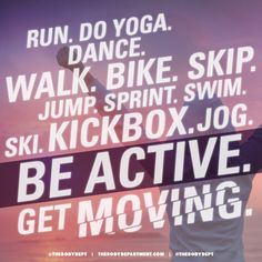 #Fitspiration: Be Active