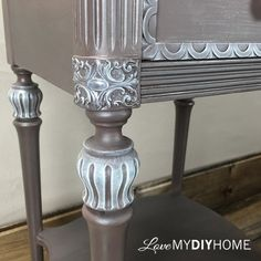 antique side table chooses life, home decor, painted furniture, painting, repurposing upcycling